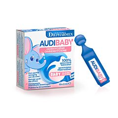 Audibaby Oorhygiëne 10x2ml