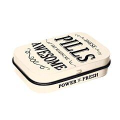 Awesome Pills Pepermuntdoosje 15g