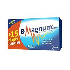 B-Magnum 450mg Promopack 90+15 Tabletten GRATIS