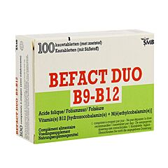 Befact Duo 100 Kauwtabletten
