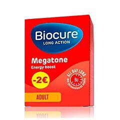 Biocure Long Action Megatone Energy Boost Adult 60 Tabletten PROMO - €2