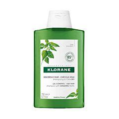 Klorane Shampoo Biologische Brandnetel NF - Vet Haar 200ml