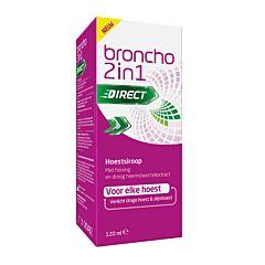 Broncho 2-in-1 Adult Sinaas Hoestsiroop Droge Hoest/ Slijmhoest 120ml