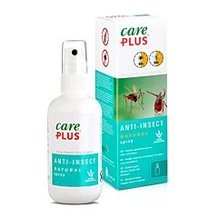 Care Plus Anti-Insect Natural Spray Zonder DEET 100ml