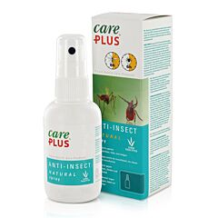 Care Plus Anti-Insect Natural Spray Zonder DEET 60ml