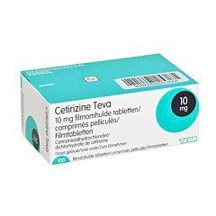 Cetirizine Teva 10mg 100 Tabletten