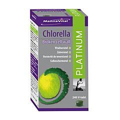 MannaVital Chlorella Platinum 240 V-Tabletten