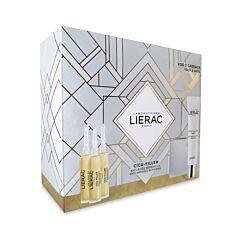 Lierac Geschenkkoffer Cica-Filler Anti-Rimpel Serum 3x10ml + GRATIS Anti-Rimpel Gel-Crème 40ml & Opbergtasje