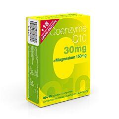 Coenzyme Q10 30mg + Magnesium Promo 30 + 15 Tabletten GRATIS