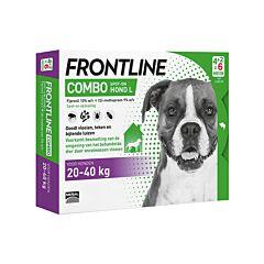 Frontline Combo Line Hond L 20-40kg Vlooien/ Teken 6x2,68ml