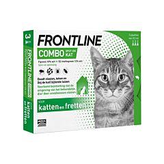 Frontline Combo Line Kat Vlooien/ Teken 3x0,5ml