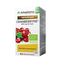 Arkocaps Cranberryne Bio Urinair Comfort 45 Capsules