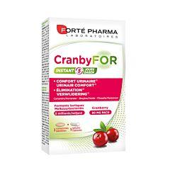 Forté Pharma Cranbyfor Instant 3 Tabletten + 5 Capsules