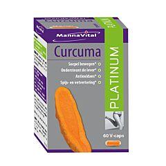MannaVital Curcuma Platinum 60 V-Capsules