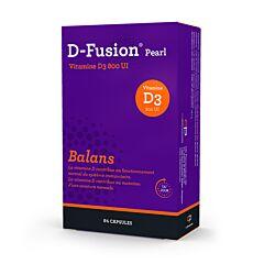 D-Fusion Pearl Balans 800IE 84 Capsules