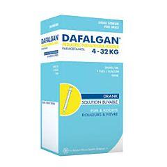 Dafalgan Pediatrie Siroop 30mg/ml 150ml