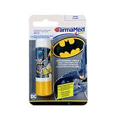 FarmaMed Kids DC Batman Beschermende Lippenbalsem Vanille 4,8g