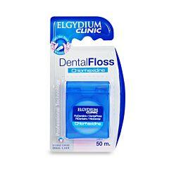 Elgydium Clinic Dentalfloss Chloorhexidine 50m 1 Rol