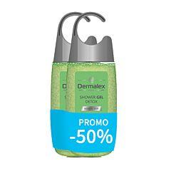 Dermalex Detox Douchegel 2x250ml Promo -50%