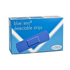 BlueZeno Detectable Strips 7,5x2,5cm 100 Stuks