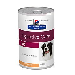 Hills Prescription Diet Digestive Care I/D Hondenvoer Kalkoen 360g