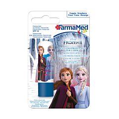 FarmaMed Kids Disney Frozen Beschermende Lippenbalsem Aardbei 4,8g