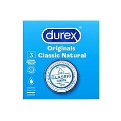 Durex Originals Classic Natural Condooms 3 Stuks