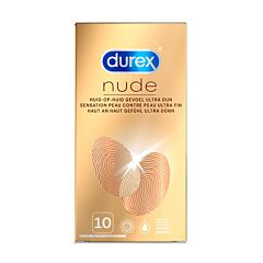 Durex Nude Classic Condooms 10 Stuks