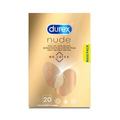 Durex Nude No Latex Condooms 20 Stuks