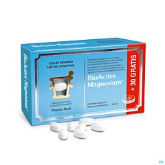 Pharma Nord Bio-Active Magnesium 120+30 Tabletten Gratis