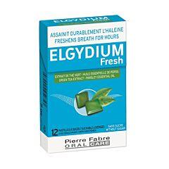 Elgydium Fresh 12 Zuigtabletten