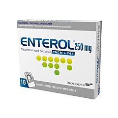 Enterol 250mg 10 Capsules