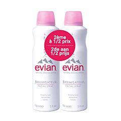 Evian Gezichtsspray 2x150ml Promo 2e -50%