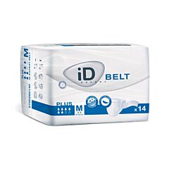 iD Expert Belt Plus - Eendelig Verband Met Gordel - Maat M - 14 Stuks