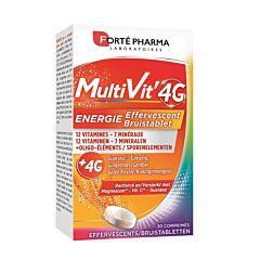 Forté Pharma Multivit 4G Energie Bruistablet 30 Bruistabletten