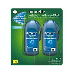Nicorette Freshmint 4mg 4x20 Zuigtabletten