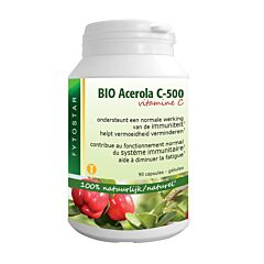 Fytostar Acerola Bio C-500 90 Caspules