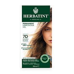 Herbatint 7D Permanente Haarkleuring - Goud Blond 150ml