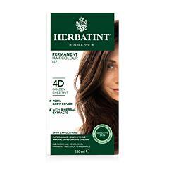 Herbatint 4D Permanente Haarkleuring - Goud-Kastanje 150ml