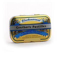 Grethers Pastilles Zwarte Bes Met Suiker 60g