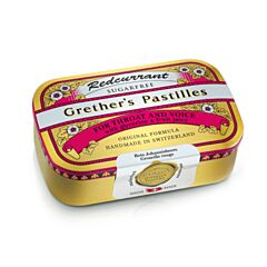 Grethers Pastilles Rode Bes Zonder Suiker 110g