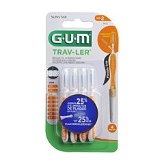 Gum Trav-Ler Interdentale Borstel 0,9mm 4 Stuks