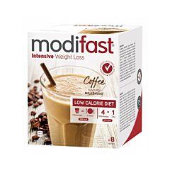 Modifast Intensive Milkshake Koffie 8x55g