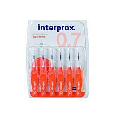 Interprox Premium Brush Interdentaal Super Micro Oranje 2,0mm 6 Stuks