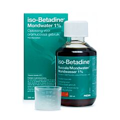 Iso-Betadine Mondwater 1% 200ml