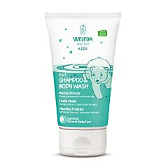 Weleda Kids 2in1 Shampoo & Bodywash Coole Munt 150ml