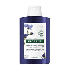 Klorane Shampoo Duizendguldenkruid Anti-Vergeling - Grijs/Blond Haar 200ml NF