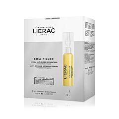 Lierac Cica-Filler Herstellend Anti-Rimpel Serum 3x10ml Ampullen