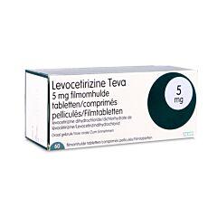Levocetirizine Teva 5mg 60 Tabletten