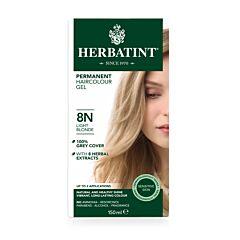 Herbatint 8N Permanente Haarkleuring - Licht Blond 150ml